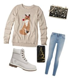"""""""Winteroutfit 5"""" by laurozic on Polyvore featuring Mode, Hollister Co., Givenchy, Timberland, Karl Lagerfeld und Casetify"""