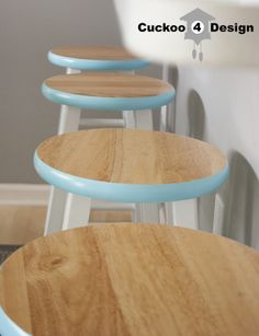 Target Counter Stool Makeover, I just bought 4 target stools that I am going to makeover, I hope they turn out as well as these.
