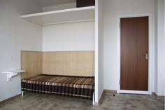 Dessau Bauhaus, Dorm Room, Bed in Alcove, Marianne Brandt | Remodelista
