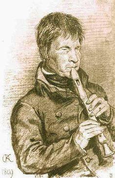 TICMUSart: Blind musician - Orest Kiprensky (1809) (I.M.)