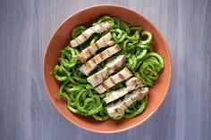 Chicken Pesto Pasta Recipe [paleo, primal, gluten-free]| virginia is for hunter-gatherers