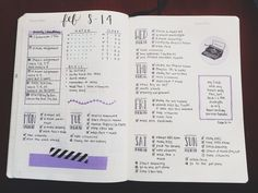 studytildawn:  Last week!! A lil' purple-y.