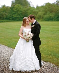 Martha Stewart Weddings, Real Wedding: Jillian and Paul, North Yarmouth, Maine