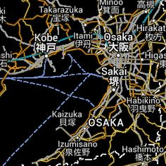 Google Map of the City of Kobe, Japan - Nations Online Project