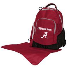 Alabama Crimson Tide Trainer Backpack Diaper Bag