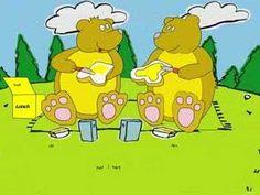 'k Zag twee beren