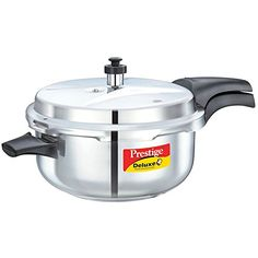 Prestige Deluxe Stainless Steel Deep Pressure Pan 5 liters * You can get additional details at the image link.