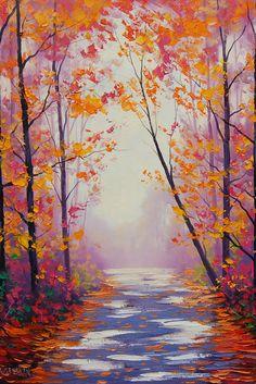 Dappled Autumn light by artsaus (print image)
