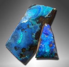 Boulder Opal: Opal takes its name from the Latin word Upala meaning precious stone. The Roman scholar Pliny described opal as ring having the fire of carbuncle (a deep red garnet) & the brilliance of amethyst with the green color of emerald. The Romans believed opal was the symbol of hope & purity. They called it cupid paederos (child as beautiful as love) & thought the wearer safe from disease. The Arabs believed that opals fell from heaven in flashes of lightning.
