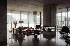 Freunde von Freunden — Karen & Christian Boros — Art Collector, Manager and Agency Owner, Penthouse, Berlin-Mitte — http://www.freundevonfre...