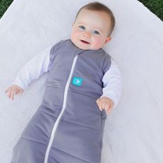 Organic cotton ergoCocoon 2.5 tog Swaddle and Sleep Bag - ergoPouch