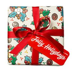 Jolly Hollydays swatch image Holiday Gift Guide, Holiday Gifts, Unique Gifts, Best Gifts, Handmade Gifts, Lush Fresh, Handmade Cosmetics, Lush Products, Birthday Presents