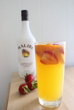 Tropical Pink Sangria - made with HAPPY