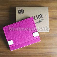 Peach Handmade 3mm Wool Felt Sleeve Case Cover BAG FOR Apple IPAD2 3 Gift BOX | eBay