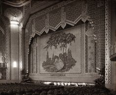 Safety curtain at the Paramount Theatre, Newcastle Vintage Movie Theater, Vintage Movies, Paramount Theater, Luxury Decor, Theatres, Pilgrim, Palaces, Newcastle, Digital Image