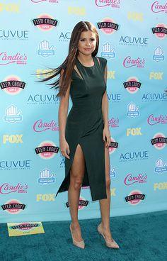Teenage Dreams: The Best Looks at the Teen Choice Awards 2013 -  Selena Gomez