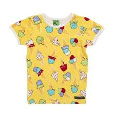 Ice Cream T Shirt - Citrus Yellow