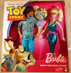 2009 Barbie Toy Story 3 Made for Each Other Barbie and Ken 2009 New | eBay