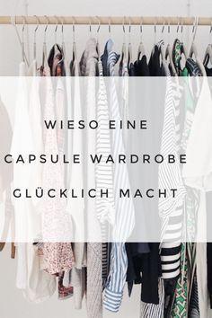 Mit nur 35 Kleidungsstücken leben macht einfach glücklich. Wieso es ne capsule wardrobe dein Leben so vereinfacht, liest du hier. #minimalismus