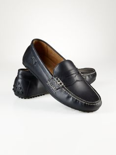 2b8b53e8b5c Leather Wes Penny Loafer - Polo Ralph Lauren Casual - RalphLauren.com