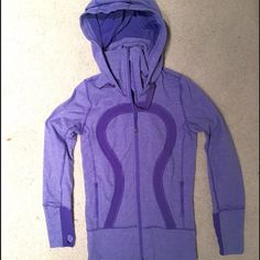 Lululemon purple zip up Zip up lulu. Only worn a couple of times. Super comfortable lululemon athletica Tops Sweatshirts & Hoodies