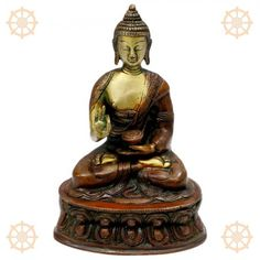 Buddha Blessed in Meditation Pose