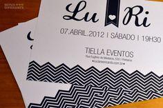Convites de casamento - Noiva Diferente | Blog Loja dos Noivos