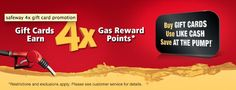 Gift card purchases earn gas reward points right now at Safeway (through Labor Day). Cash Gift Card, Gift Card Specials, Buy Gift Cards, Gift Card Promotions, Budgeting, How To Apply, Pumps, Giveaways, Pumps Heels