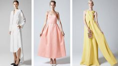 Up and coming designer, Rosie Assoulin continues to make us swoon with her beautiful designs.