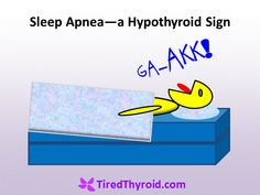 Sleep apnea and hypothyroidism go hand in hand. Some studies even show that thyroid hormone treatment cures the obstructive sleep apnea This is because hypothyroidism thickens the phary… What Causes Sleep Apnea, Cure For Sleep Apnea, Sleep Apnea Remedies, Trying To Sleep, How To Get Sleep, Anti Aging, Circadian Rhythm Sleep Disorder, Home Remedies For Snoring, How To Stop Snoring