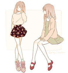 anime fashion illustration - Pesquisa Google