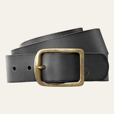 Men's Classic Buffalo Leather Belt