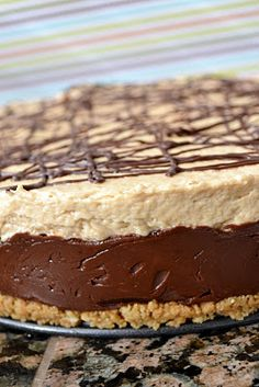 Miranda's Recipes: Reese's Fudge Pie