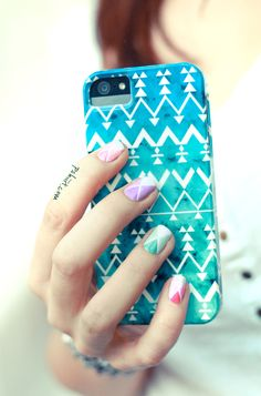 Nail Art De Printemps En Avance #nails, #fashion, #pinsland, https://apps.facebook.com/yangutu