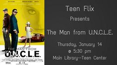 Man from Uncle Teen Programs, Library Programs, Main Library, The Man From Uncle, Programming, Promotion, Computer Programming, Coding