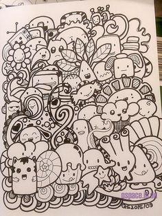 First Kawaii Doodle   by Qski McGrewski