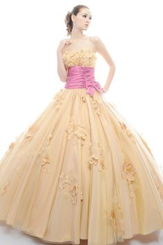 New Strapless Floor Length Bodice Quinceanera Dress With Bow Knot And Jacket