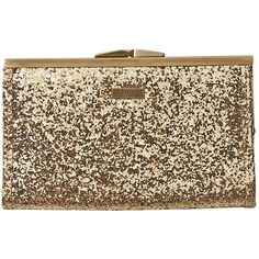 aa2cacc43cec Element Shimmer Womens Clutch Gold (170 DKK) ❤ liked on Polyvore featuring  bags