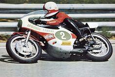 Jarno 'Paroni' Saarinen - 1972 World Champion 250cc