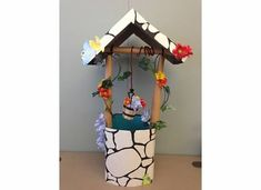 DIY Wishing Well for princess party