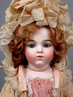 "22.5"" Fabulous Early Model All Original Bru Jeune Size 8 ~2 Year from kathylibratysantiques on Ruby Lane"