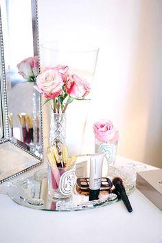 14 Lindas Ideas Para Organizar Tu Maquillaje  We Love :) Nos encanta :)