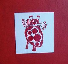 steampunk style heart