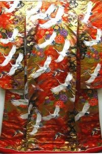 Japansk Bröllops-Kimono No 3 - La Reine Inredningar Womens Fashion, Painting, Vintage, Art, Kimonos, Art Background, Painting Art, Kunst, Women's Fashion