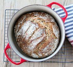 ELTEFRITT LANDBRØD + TIPS TIL ELTEFRI JULEBAKST | TRINES MATBLOGG Nom Nom, Food And Drink, Bread, Baking, Tips, Recipes, Food, Creative, Brot