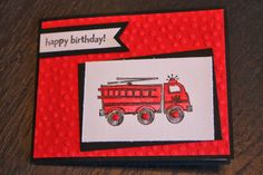Naptime is Stamptime: Happy Birthday Hero ~ Stampin' Up! You're My Hero