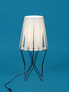 Bengt Johan Gullberg; Metal and Plastic Table Lamp, 1950s.