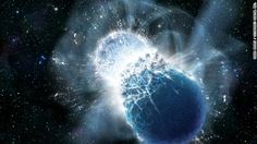 Colliding neutron stars produce short gamma-ray bursts, as well as gold, platinum and uranium, scientists say.
