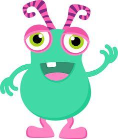CH.B *✿* De Minus Monsters Inc, Funny Monsters, Cartoon Monsters, Little Monsters, Little Monster Party, Monster Inc Party, Monster Birthday Parties, Monster Mash, Monster Classroom