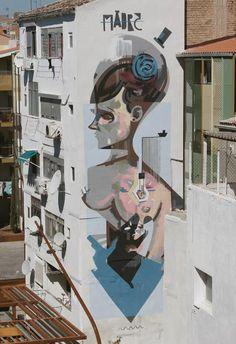 Street art   Mural by Xabier XTRM